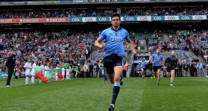 Dublin's Cian O'Sullivan is listed at centre back despite widespread concerns about a hamstring injury he picked up at the very end of the semi-final replay win over Mayo.