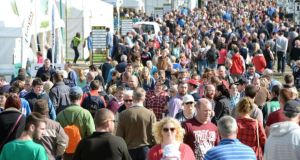 Crowds at the National Ploughing Championships 2014. Photograph: Eric Luke/The Irish Times
