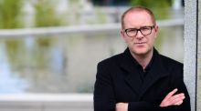 Conor McPherson: 'Writing is . . .  like going to the toilet. It's beyond rational consciousness. A play just sort of pops out.'  Photograph: Dara Mac Dónaill