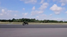 One speed: fastest wheelie motorcycle record set