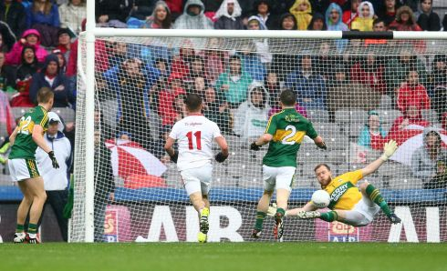 1. Brendan Kealy (Kerry) Not many candidates here, with Cluxton having a rocky few games. Kealy pulled off good saves against Tyrone and Dublin and had a fine year after losing his spot last season.