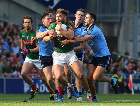 14. Aidan O'Shea (Mayo) Everything good about Mayo came through him. Took the blows from all around him and carried a lot of the burden.