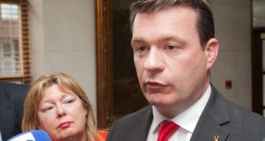 Minister for the Environment Alan Kelly