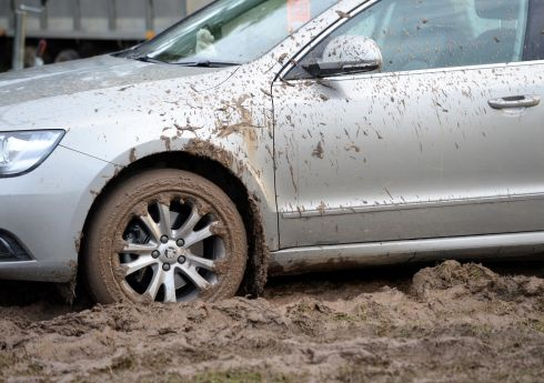 The going is soft to mucky . . . Photograph: Eric Luke/The Irish Times