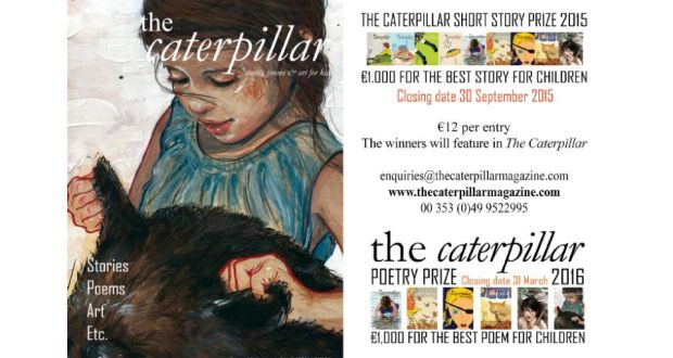Hungry to publish your writing for children? Try the Caterpillar