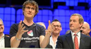 "Taoiseach Enda Kenny described Paddy Cosgrave's decision to relocate the Web Summit as ""an individual choice"", saying it was not a question of the Government's failure to reach Mr Cosgrave's demands. Photograph: Eric Luke/The Irish Times"