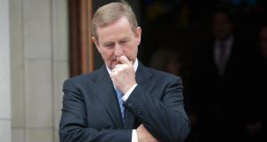 "Enda Kenny:  ""I am advised that the loan sale was executed in a proper manner."" Photograph: Gareth Chaney/Collins"