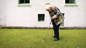 Taking her time: 105-year-old Dorothea Findlater from Blackrock, Co Dublin