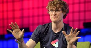 Paddy Cosgrave, founder of the Web Summit: Will Bono lead pub crawls for him around Lisbon? Photograph: Eric Luke