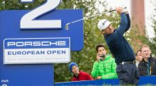Graeme McDowell is four shots off the lead of Australia's Richard Green after posting an opening round 68 in Bavaria. Photograph: Epa