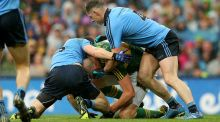 Dublin's Philly McMahon will learn his fate this weekend after being accused of eye gouging Kerry's Kieran Donaghy. Photograph: Inpho