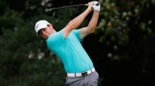 Rory McIlroy sits four under par after the opening round of the Tour Championship in Atlanta. Photograph: Getty