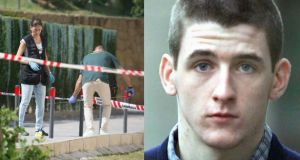 Dublin criminal Gary Hutch (34) who was shot dead in Spain on Thursday morning. Images: solarpix.com and Courts pix