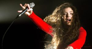 Generation Z compass point:  Lorde. Photograph: Mark Metcalfe/Getty Images