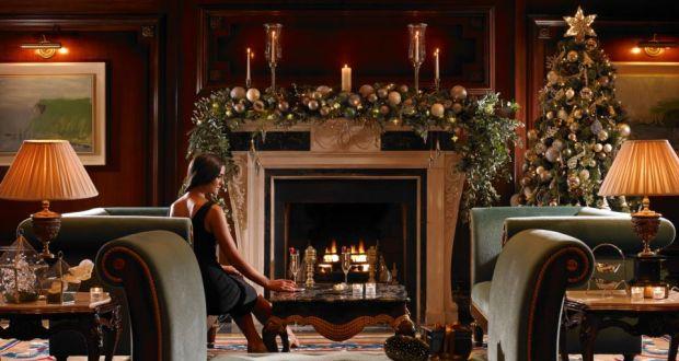 relaxing in powerscourt hotel enniskerry co wicklow winner of the aa hotel of - Christmas Deals 2015