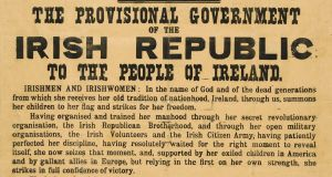 The 1916 Proclamation:  Sacred text or  a historical document?