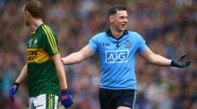 Philly McMahon held the best forward of his generation, Kerry's Colm Cooper, scoreless in the All-Ireland football final. Photograph: Cathal Noonan/Inpho