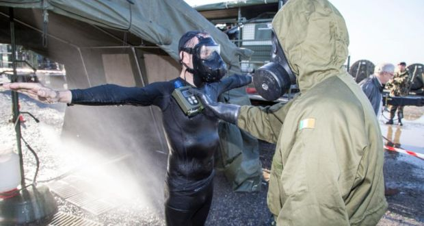 Medics train for chemical and biological attack