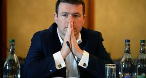 Minister for the Environment Alan Kelly. Photograph: Eric Luke/The Irish Times