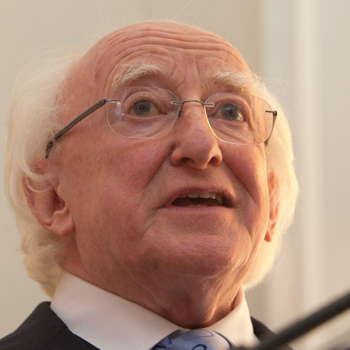 President calls for 'better system' for refugees in Ireland