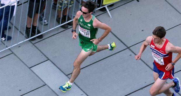 22d0c726561d Kevin Seaward produced the fastest Irish marathon performance in three  years in Berlin. Photograph
