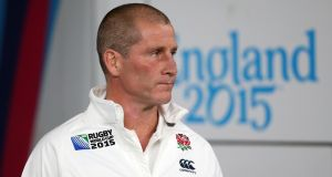 "England head coach Stuart Lancaster: ""I didn't sleep much – I was lying awake thinking about it."" Photograph: David Rogers/Getty Images"