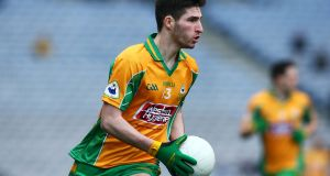 Martin Farragher was one of the scorers as Corofin cruised to the Galway SHC final. Photo: Inpho
