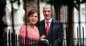 Dr Íde Delargy and Hugh Kane of the Practitioner Health Matters Programme. Photograph: Dara Mac Donaill / The Irish Times