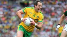 Ireland international rules manager Joe Kernan has not given up on the prospect of Donegal's Michael Murphy lining out in November's Test against Australia. Photograph: Inpho