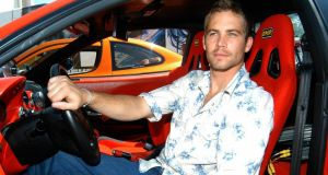 US actor Paul Walker  died in a car crash in California, USA, on  November 30th, 2013. His daughter is suing Porsche over the incident. Photograph: Emilio Naranjo/EPA.