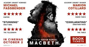 Macbeth – In Cinemas October 2nd