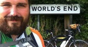 Breifne Earley won the world record-breaking cycle race through 25 countries and returned home this July to his home near Leitrim village, Co Leitrim. Bad luck hit on Sunday night when his bike, valued at €3,500 but worth much more to him in sentimental value, was one of two stolen off a the back of an SUV.