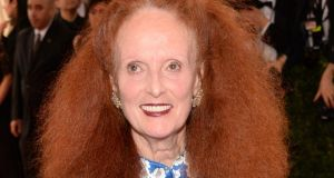 Grace Coddington in New York earlier this year. Photograph: Kevin Mazur/WireImage