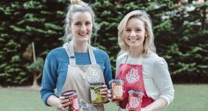 Sarah O'Connor and Isolde Johnson, founders of the Cool Bean Company. Photograph: Dara Munnis