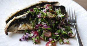 Recipe: Grilled mackerel