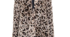 Animal print fur coat, €79.99, Pull and Bear