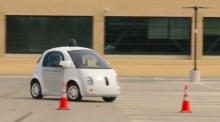 Futuristic motoring: Google showcases self-driving car prototype