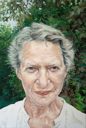 Vera Klute from Co. Dublin; Anne Ryder – oil on canvas