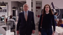 Anne Hathaway on her latest film 'The Intern'