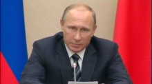 Vladimir Putin confirms Russian military action in Syria