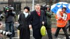 Ian Bailey leaves the High Court recently after losing his case over Garda conduct. Photograph: Eric Luke / The Irish Times