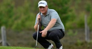 Michael McGeady of Ireland has moved into a tie for fifth in Tour qualifying in France. Photograph: Getty
