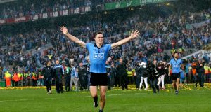 Dublin's Brian Fenton: the midfielder follows up his man-of-the-match award in the All-Ireland final with a first All Star nomination. Photograph: James Crombie/Inpho
