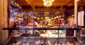Traditional French patisserie Le Petit Parisien on Wicklow Street, Dublin