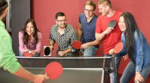 Ping pong: a great way to bring employees together