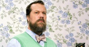 "John Grant: ""When I write my songs, I'm writing about the pain, the joy and the ridiculousness of being a human... about one tiny little experience of what it's like to be a human on this planet."" Photograph: Michael Berman."