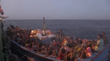 MSF highlight harsh sea conditions for migrants
