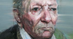 Portrait of the artist: Brian Friel in one of Colin Davidson's portraits of the late playwright