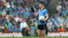 Dublin star Diarmuid Connolly was sent off in the county final replay while playing for St Vincent's against Ballymun Kickhams two years ago. Photograph: Ryan Byrne/Inpho.