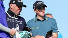 Paul Dunne is a shot off the lead after a second round 70 at St Andrews in the Dunhill Links. Photograph: Getty
